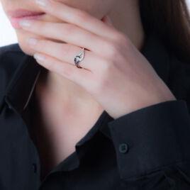 Bague Nevine Or Blanc Diamant - Bagues avec pierre Femme | Histoire d'Or