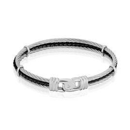 Bracelet Acier Blanc - Bijoux Homme | Histoire d'Or
