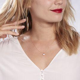 Collier Charlene Or Jaune Diamant Synthetique - Bijoux Femme   Histoire d'Or