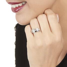 Bague Vianca Or Blanc Diamant - Bagues avec pierre Femme | Histoire d'Or