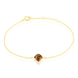 Bracelet Ambroisine Or Jaune Quartz - Bijoux Femme | Histoire d'Or