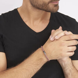 Bracelet Axel Acier Blanc - Bracelets fantaisie Homme   Histoire d'Or