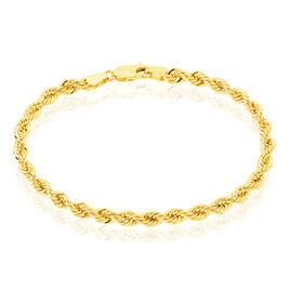 Bracelet  Or Jaune - Bracelets chaîne Femme | Histoire d'Or
