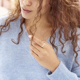 Bague Or Jaune Marcianne Triple Rang - Bagues avec pierre Femme | Histoire d'Or
