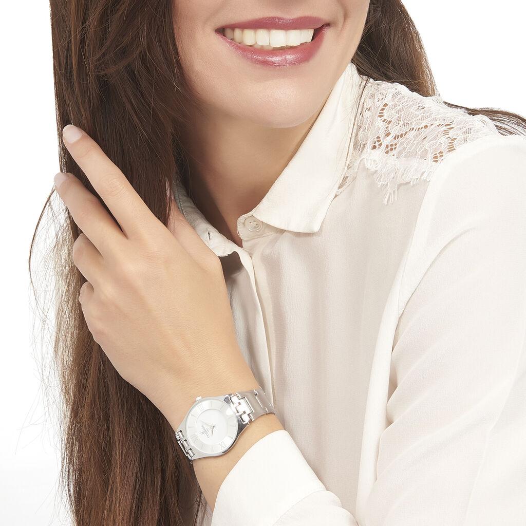 Montre Codhor Chypre Blanc - Montres Femme | Histoire d'Or