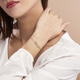 Bracelet Louisa Or Bicolore - Bijoux Femme   Histoire d'Or