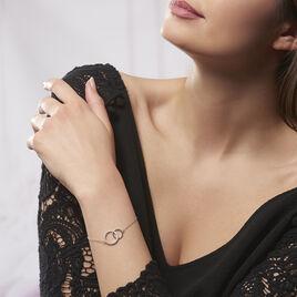 Bracelet Yalaz Argent Blanc Oxyde De Zirconium - Bracelets fantaisie Femme | Histoire d'Or