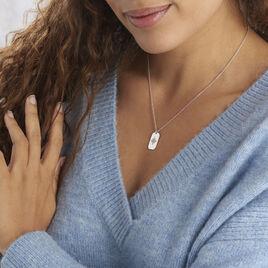 Collier Laig Argent Blanc Oxyde De Zirconium - Colliers Arbre de vie Femme | Histoire d'Or
