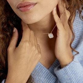 Collier Alta Plaque Or Jaune Nacre - Bijoux Femme | Histoire d'Or