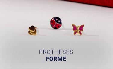 prothèses formes