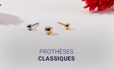 Prothèses classique/boule